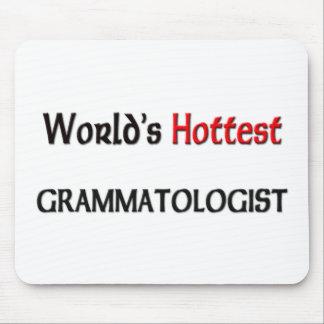 Worlds Hottest Grammatologist Mouse Pad