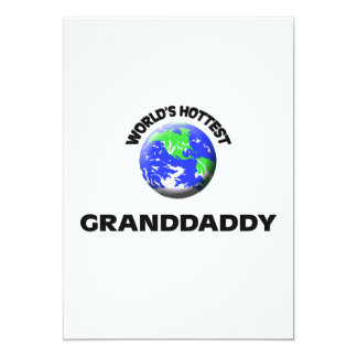 World's Hottest Granddaddy Custom Invite