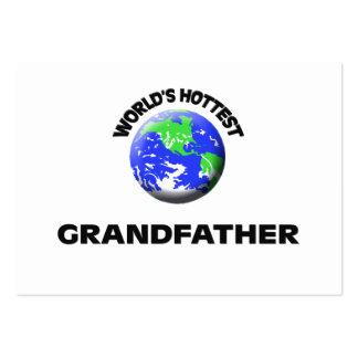 World's Hottest Grandfather Business Cards