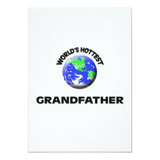 World's Hottest Grandfather Custom Invites