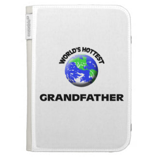 World's Hottest Grandfather Kindle 3G Cases