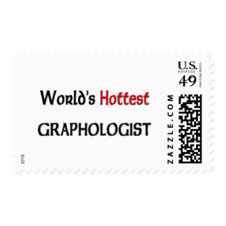 Worlds Hottest Graphologist Postage Stamps