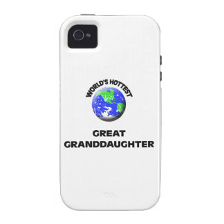World's Hottest Great Granddaughter iPhone 4 Cases