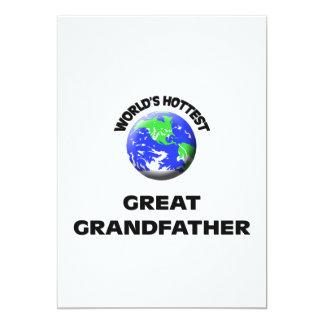 World's Hottest Great Grandfather Custom Invites