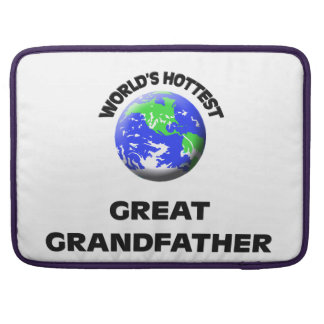 World's Hottest Great Grandfather MacBook Pro Sleeve