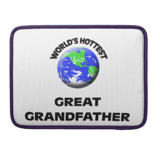 World's Hottest Great Grandfather Sleeve For MacBooks