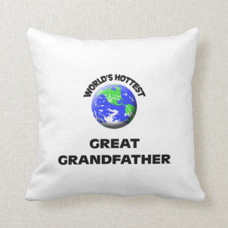 World's Hottest Great Grandfather Pillow