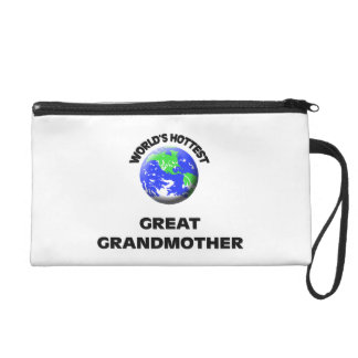 World's Hottest Great Grandmother Wristlet