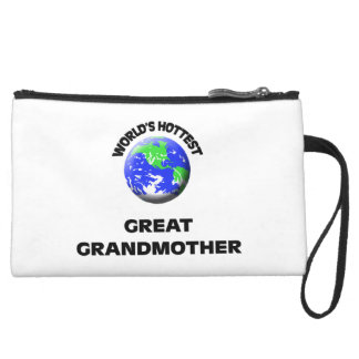 World's Hottest Great Grandmother Wristlet Purse