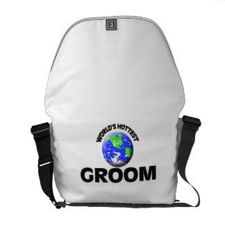 World's Hottest Groom Messenger Bag