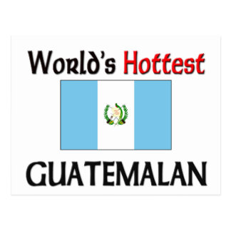 World's Hottest Guatemalan Postcard