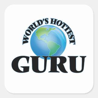World's Hottest Guru Stickers