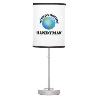 World's Hottest Handyman Table Lamp