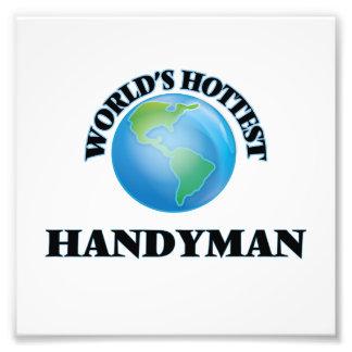 World's Hottest Handyman Art Photo