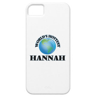 World's Hottest Hannah iPhone 5 Cases