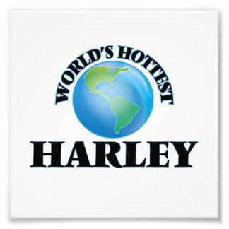 World's Hottest Harley Photo Print
