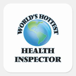 World's Hottest Health Inspector Sticker