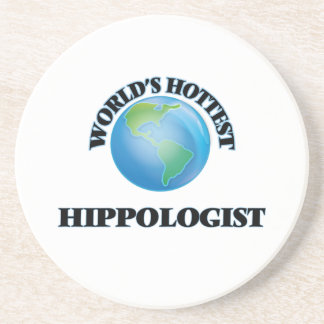 World's Hottest Hippologist Coasters