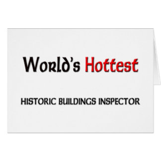 Worlds Hottest Historic Buildings Inspector Card