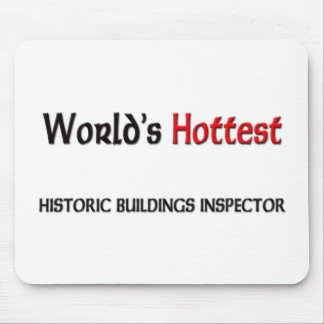 Worlds Hottest Historic Buildings Inspector Mouse Pad