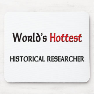 Worlds Hottest Historical Researcher Mouse Pad