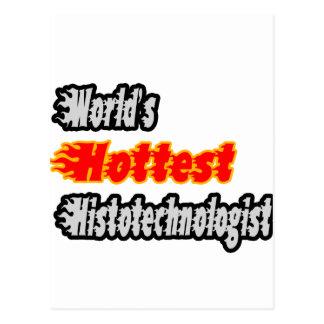World's Hottest Histotechnologist Postcard