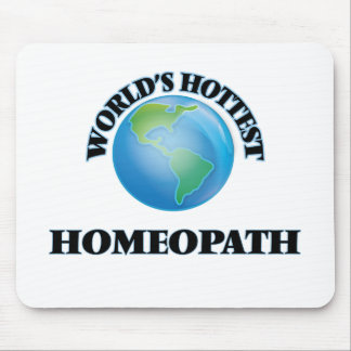 World's Hottest Homeopath Mouse Pad