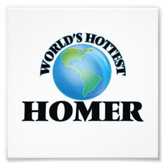 World's Hottest Homer Photo Art