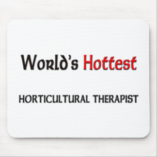 Worlds Hottest Horticultural Therapist Mouse Mat