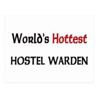 Worlds Hottest Hostel Warden Postcard
