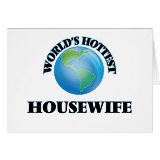 World's Hottest Housewife Cards