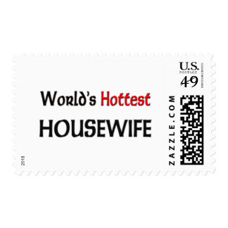 Worlds Hottest Housewife Postage Stamps