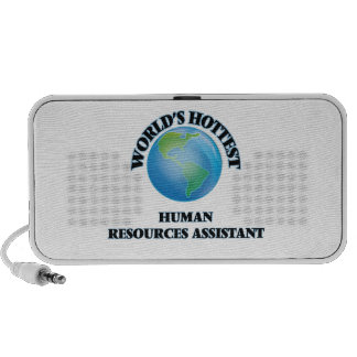 World's Hottest Human Resources Assistant iPhone Speakers