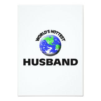 World's Hottest Husband Invitations