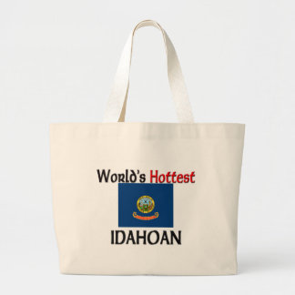 World's Hottest Idahoan Canvas Bags