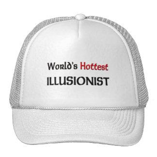 Worlds Hottest Illusionist Mesh Hats