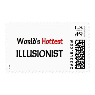 Worlds Hottest Illusionist Stamp