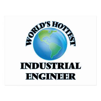 World's Hottest Industrial Engineer Postcard