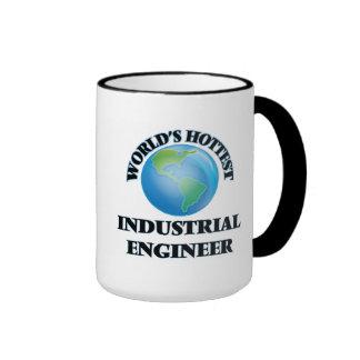 World's Hottest Industrial Engineer Ringer Coffee Mug