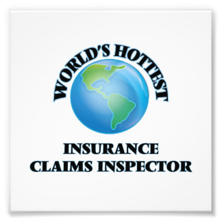 World's Hottest Insurance Claims Inspector Photograph
