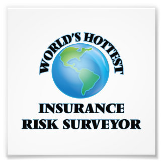 World's Hottest Insurance Risk Surveyor Art Photo