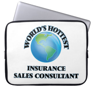 World's Hottest Insurance Sales Consultant Laptop Sleeve
