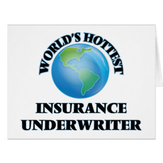 World's Hottest Insurance Underwriter Cards