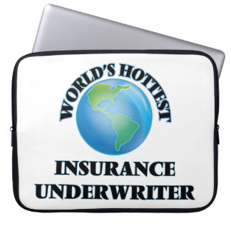 World's Hottest Insurance Underwriter Computer Sleeves