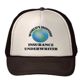 World's Hottest Insurance Underwriter Trucker Hat