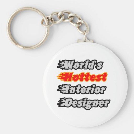 World's Hottest Interior Designer Key Chain