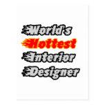 World's Hottest Interior Designer Post Cards