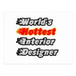 World's Hottest Interior Designer Postcard