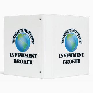 World's Hottest Investment Broker Binders