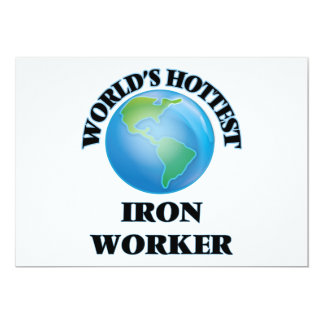 World's Hottest Iron Worker Custom Announcement